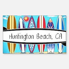 Cute Surfboards Sticker (Rectangle)