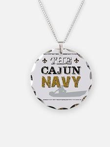 The Cajun Navy Skiff Necklace