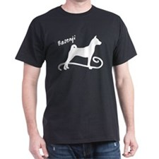basenji dog swirl T-Shirt