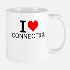 I Love Connecticut Mugs