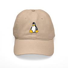 linux tux penguin Baseball Cap