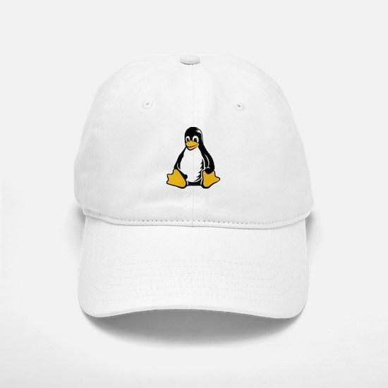 linux tux penguin Baseball Baseball Cap