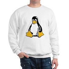 linux tux penguin Sweatshirt