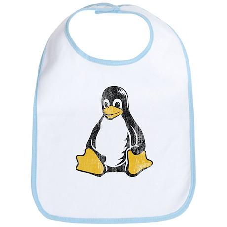 linux tux penguin Bib