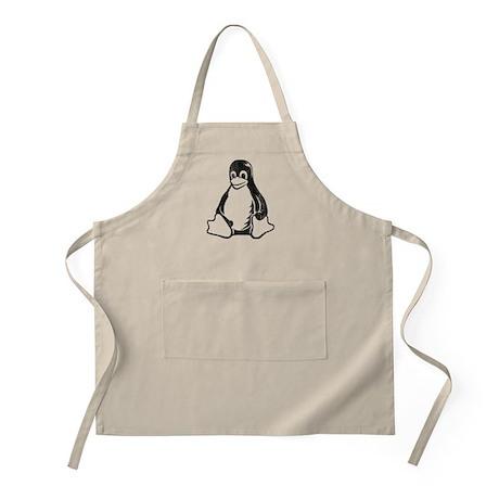 linux tux penguin BBQ Apron