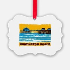 Huntington Beach Pier Ornament