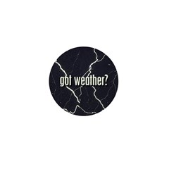 Weather Mini Button (100 pack)