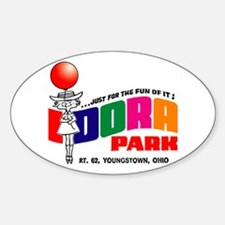 idora park Sticker (Oval)