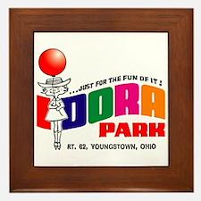 Idora Park Balloon Framed Tile
