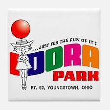 Idora Park Balloon Tile Coaster