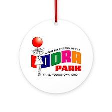 Idora Park Balloon Ornament (Round)