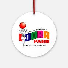 idora park Round Ornament