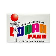 Idora Park Balloon Rectangle Magnet
