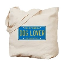 California Dog Lover Tote Bag