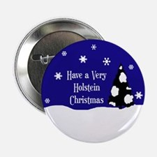 "A Very Holstein Christmas 2.25"" Button"