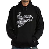 Camo snowmobile Hoodie (dark)