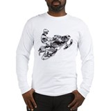 Snowmobile Long Sleeve T-shirts