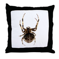 Cool Spider Throw Pillow