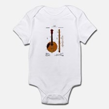 Mandolin Patent Infant Bodysuit