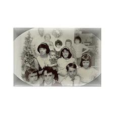 Unique Personalized christmas decorations Rectangle Magnet (10 pack)