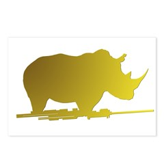 Bold Rhino Postcards (Package of 8)