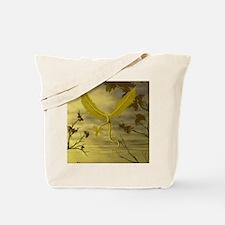 Flying Leaf Dragon Tote Bag