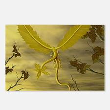 Flying Leaf Dragon Postcards (Package of 8)
