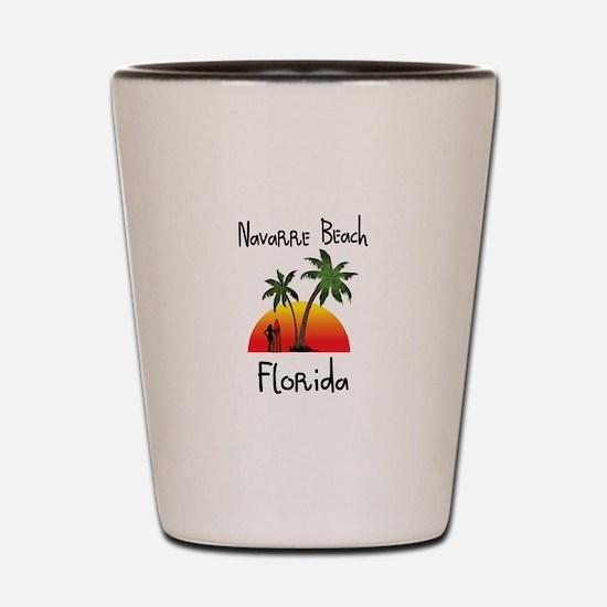 Navarre Beach Florida Shot Glass