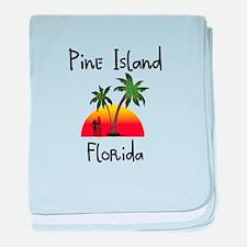 Pine Island Florida baby blanket