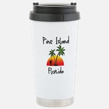 Pine Island Florida Stainless Steel Travel Mug
