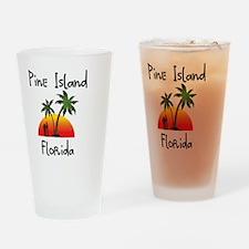 Pine Island Florida Drinking Glass