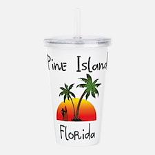 Pine Island Florida Acrylic Double-wall Tumbler