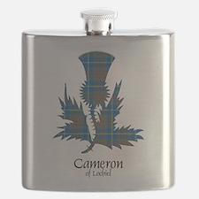 Thistle-CameronLochiel hunting Flask
