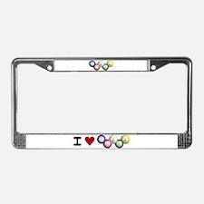 Bingo License Plate Frame