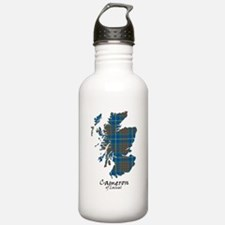 Map-CameronLochiel hun Water Bottle