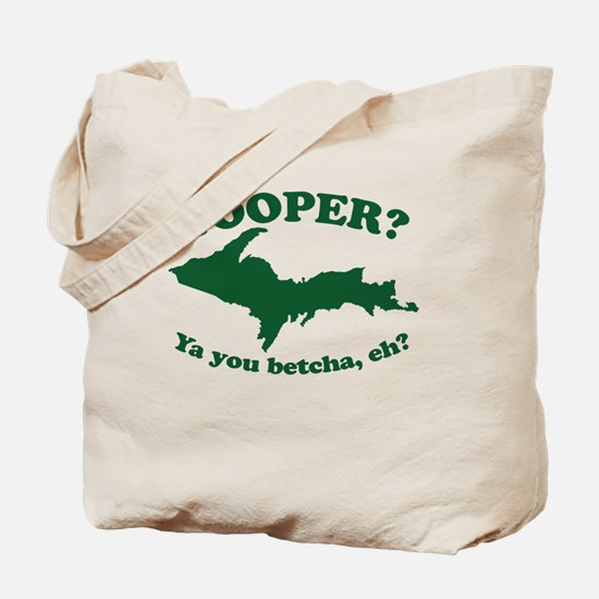 Unique Upper michigan yooper Tote Bag