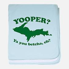 Yooper baby blanket