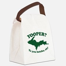 Yooper Canvas Lunch Bag