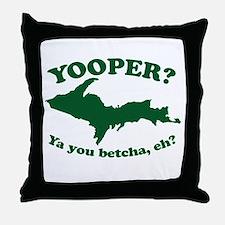 Yooper Throw Pillow