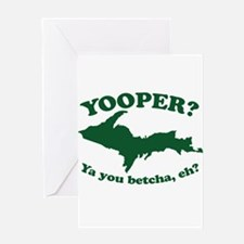 Yooper Greeting Cards