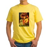 Angel3/Shih Tzu (P) Yellow T-Shirt