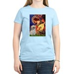 Angel3/Shih Tzu (P) Women's Light T-Shirt