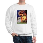 Angel3/Shih Tzu (P) Sweatshirt