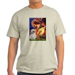 Angel3/Shih Tzu (P) Light T-Shirt