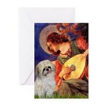 Angel3/Shih Tzu (P) Greeting Cards (Pk of 10)
