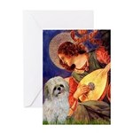 Angel3/Shih Tzu (P) Greeting Card