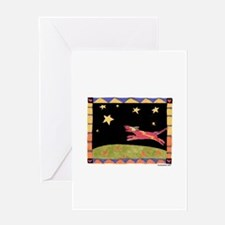Star Dog Greeting Card