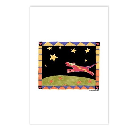 Star Dog Postcards (Package of 8)