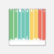 Retro Melbourne Australia Skyline Sticker