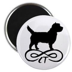 Cairn Terrier Infinity Magnet
